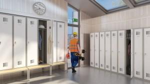 szafy metalowe odzieżowe
