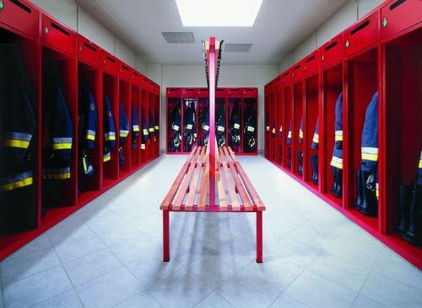 szafy strażackie